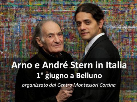 ARNO E ANDRÉ STERN A BELLUNO!
